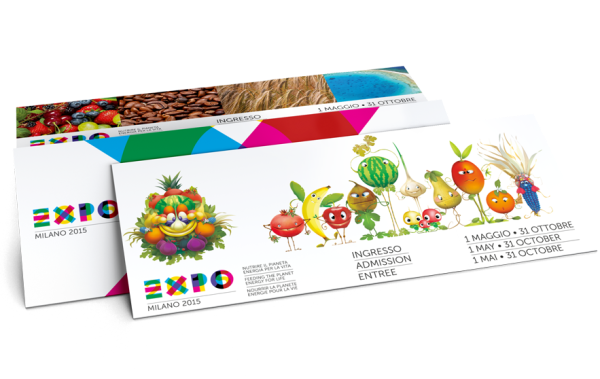 expo 2015 milan ticket